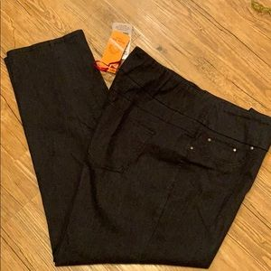Ruby Rd. Pants slimming contour waistband 16W NWT